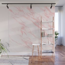 pink rose marble Wall Mural