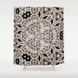geomeric elegant soft pattern Shower Curtain