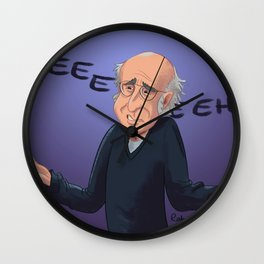 LD caricature Wall Clock