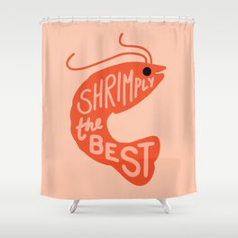 Shrimply the Best Shower Curtain
