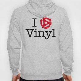 I Love Vinyl featuring 45 Insert Hoody
