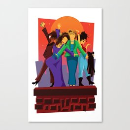 Living Single Canvas Print