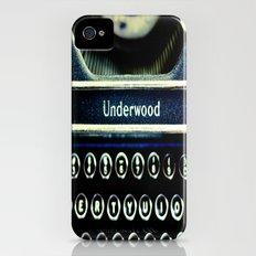 Underwood iPhone (4, 4s) Slim Case