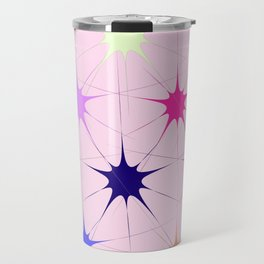 Star Bursts Travel Mug