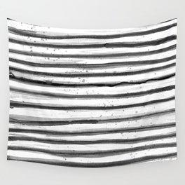 Zebra Swirl Stripe Wall Tapestry