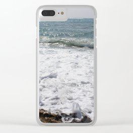 Bubbles in the Ocean Clear iPhone Case