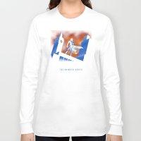cartoon Long Sleeve T-shirts featuring Sherlock Cartoon by harebrained