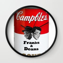Franks & Deans Wall Clock