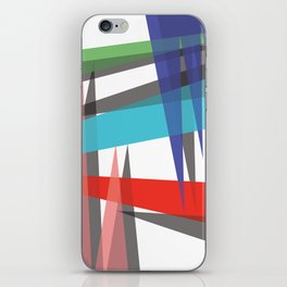 Ambient 19 white iPhone Skin