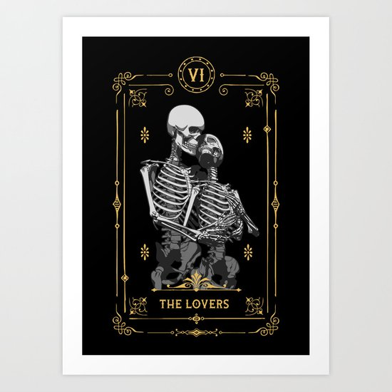 The Lovers VI Tarot Card by grandeduc