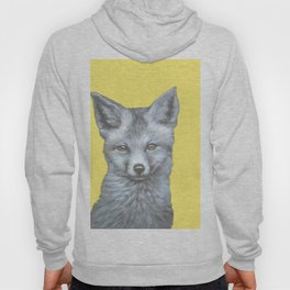 yellow eyes fox Hoody