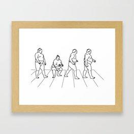 Heavy Road Framed Art Print