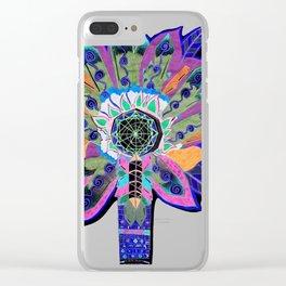 Shaman Glow Clear iPhone Case