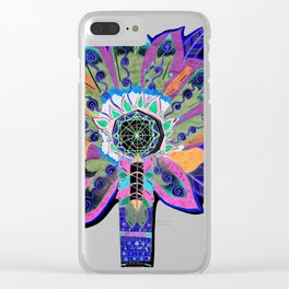 Shaman Glow Clear iPhone Case