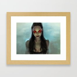 Siren of Phlegethon Framed Art Print