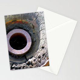 Wooden Wheel Stationery Cards