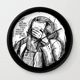 Facepalm Marx Wall Clock