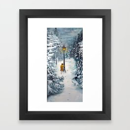 The Lamppost Framed Art Print