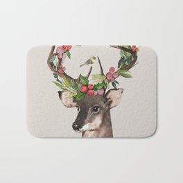 Christmas Deer Bath Mat