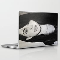aaliyah Laptop & iPad Skins featuring AALIYAH by alittleart