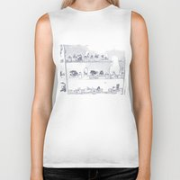 mineral Biker Tanks featuring Mineral City II by antecedence