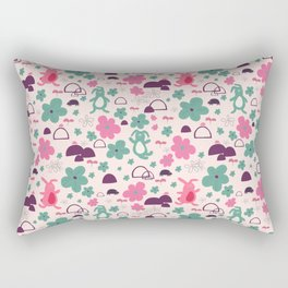 The safety blanket - Fabric pattern Rectangular Pillow