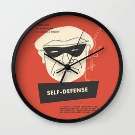 Self-Defense Wall Clock