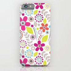 Inky Floral iPhone 6 Slim Case