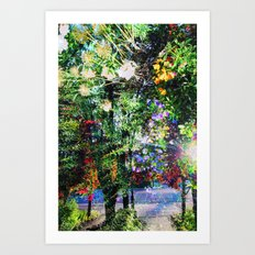 Enchanted Nature Art Print
