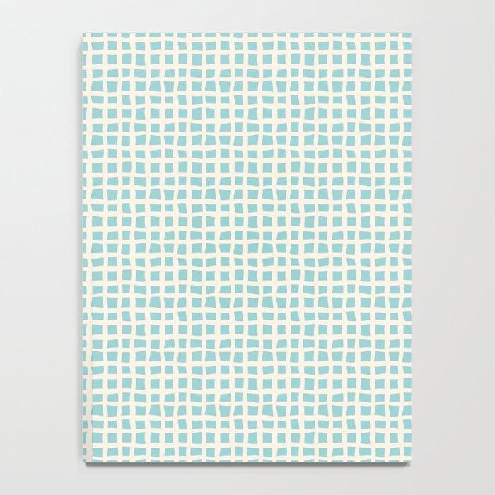 Blue Scribbles Pattern 02 Notebook