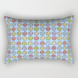 Boats & Boats & Boats & Boats Rectangular Pillow