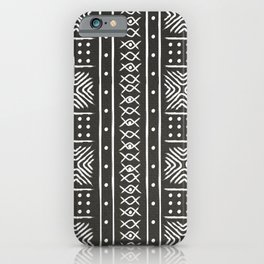Another black mud cloth iPhone Case