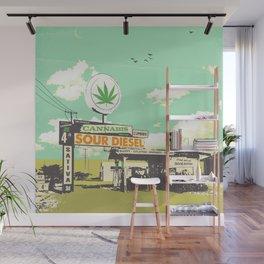 SOUR DIESEL Wall Mural