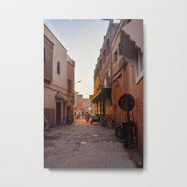Rising Crescent (Marrakech) Metal Print