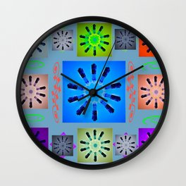 If I Were A kaleidoscope Wall Clock