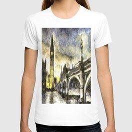 Westminster Van gogh T-shirt