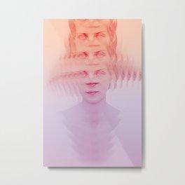 Face.02 Metal Print