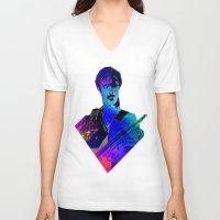 zappa V-neck T-shirts featuring ZAPPA  by TS Boyle