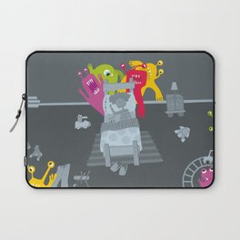 kid and ghosts Laptop Sleeve