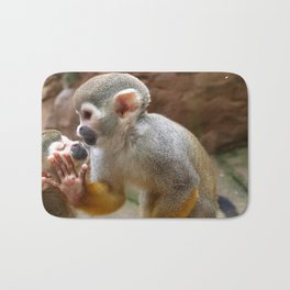 Monkey Love and Attitude  Bath Mat