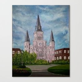 St. Louis Cathederal Canvas Print