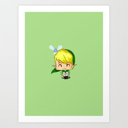 Chibi Link Art Print