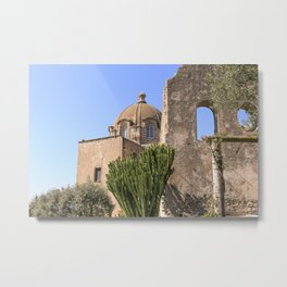 Island And Castle Metal Print