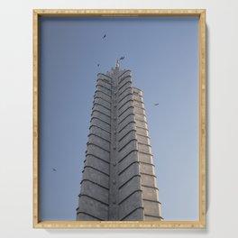 The Jose Marti Memorial, in La Havana, Cuba. Serving Tray