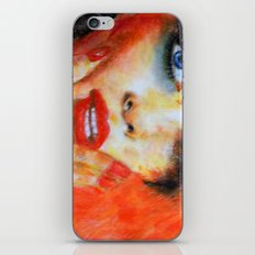 Title: Pastel Portrait - Orange Passion iPhone & iPod Skin