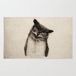 Owl Sketch Rug