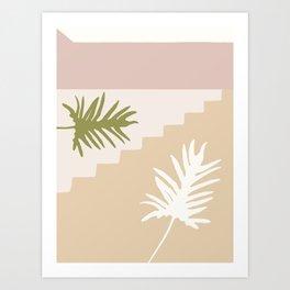 Botanical Wall Flowers #3. Art Print