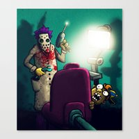 dentist Canvas Prints featuring Dentist by MaComiX