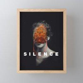 Affiche Silence Framed Mini Art Print