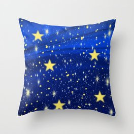 Starry, Starry Nights... Throw Pillow